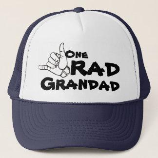 One RAD Grandad 80's 90's Trucker Hat for Grandpa