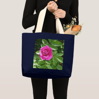 One Red Rose Large Tote Bag