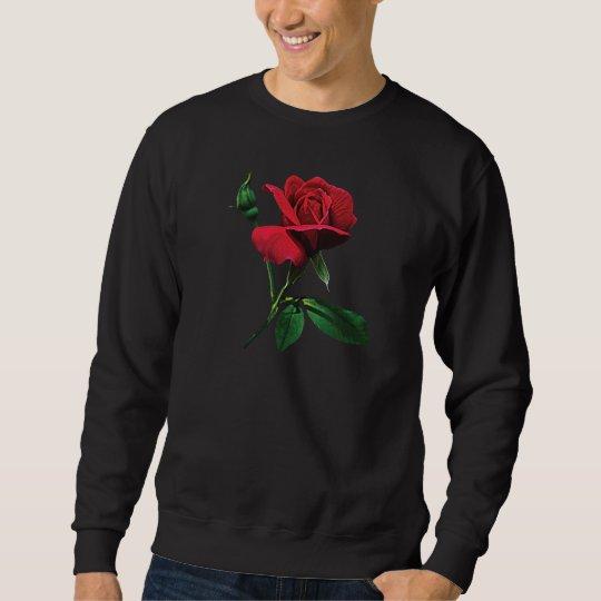 One Red Rosebud Sweatshirt
