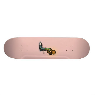 one religious ride. skate boards