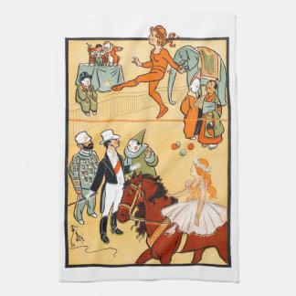 One Ring Circus: The Ringmaster & Crew Tea Towel