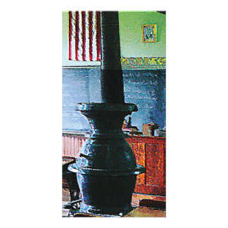 One Room Schoolhouse Photo Card Template