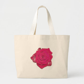 One Rose Canvas Bag