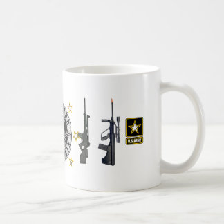 ONE SHOT- ARMY PATCH COFFEE MUG