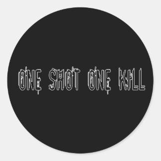 One Shot One Kill Stickers