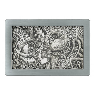 One-Sided Competition Belt Buckle