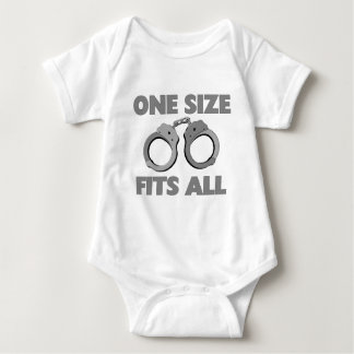 One size fits all baby bodysuit