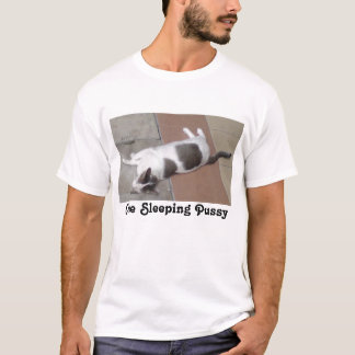 One Sleeping Pussy nightie T-Shirt