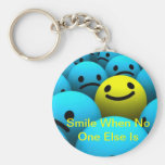 One Smile Key Chains