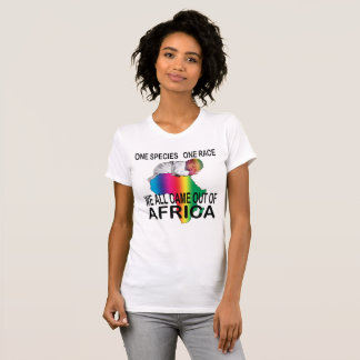 """""""One Species, One Race"""" Unity Science T-Shirt #2"""