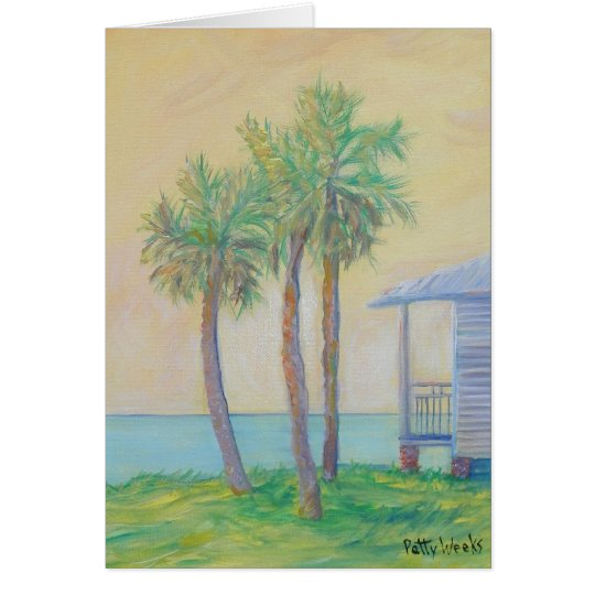 ONE ST. AUGUSTINE MORNING Greeting Card