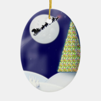 One Starry Night Christmas Ornament