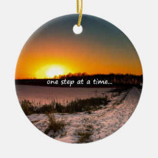 One Step at a Time Christmas Ornament
