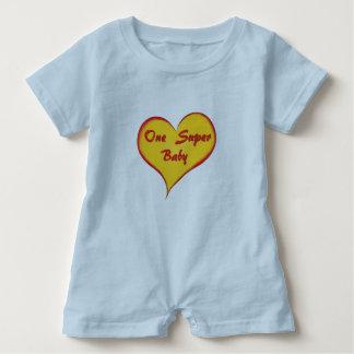 One Super Baby Romper Baby Bodysuit