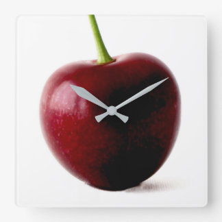 One Sweet Cherry Wall Clock