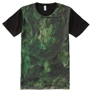One T-shirts, green, black, sweater, shorts All-Over Print T-Shirt