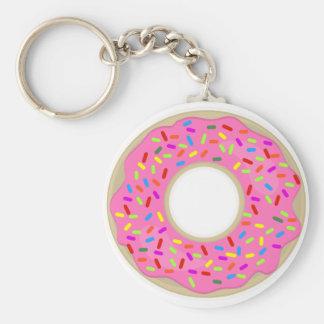 One Tasty Lone Donut Key Ring