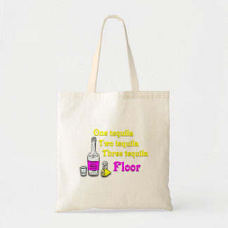 One Tequila Two Tequila Three Tequila Floor #2 Tote Bag