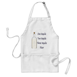 One tequila Two tequila Three tequila Four Standard Apron