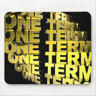 One Term Mouse Pad