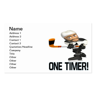 One Timer Pack Of Standard Business Cards