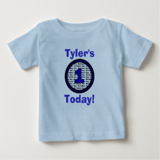 One Today Birthday Shirt