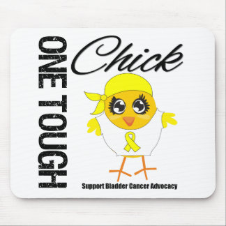 One Tough Chick Bladder Cancer Warrior Mouse Pad