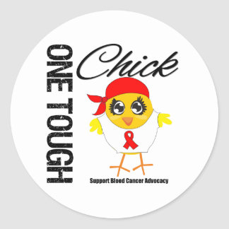 One Tough Chick Blood Cancer Advocacy Sticker
