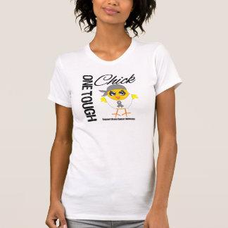 One Tough Chick Brain Cancer Warrior Tee Shirt