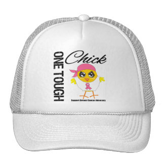 One Tough Chick Breast Cancer Warrior Cap