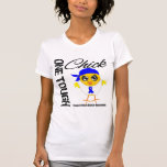 One Tough Chick Colon Cancer Warrior Tee Shirts