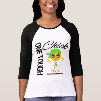 One Tough Chick Lymphoma Warrior Tee Shirt