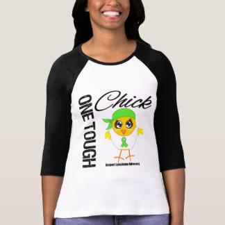 One Tough Chick Lymphoma Warrior T-shirt