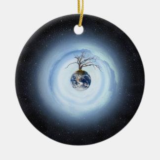 One Tree Planet Christmas Ornament