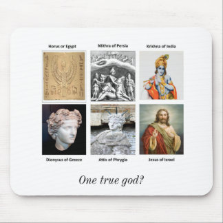 One true god? mouse mat