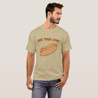 One True Love: Hot Dog T-Shirt