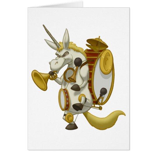 One-Unicorn Band Card (Blank Inside)
