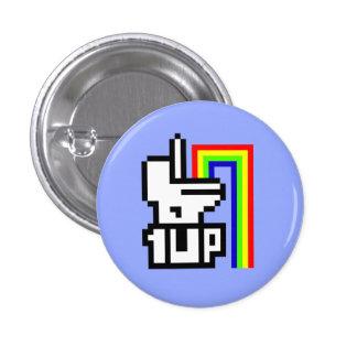 One Up 3 Cm Round Badge