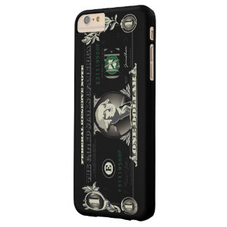 One US Dollar Bill Barely There iPhone 6 Plus Case