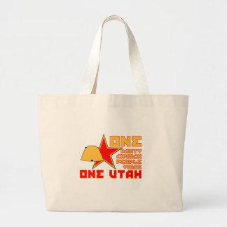 One Utah Canvas Bags