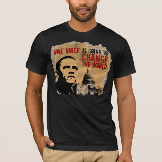 ONE VOICE-PRESIDENT OBAMA cptl-B T-Shirt