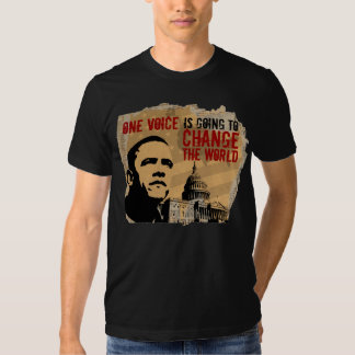 ONE VOICE-PRESIDENT OBAMA cptl-B T Shirts