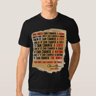 ONE VOICE - PRESIDENT OBAMA TEE SHIRT