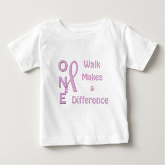 One walk makes a difference infant T-Shirt