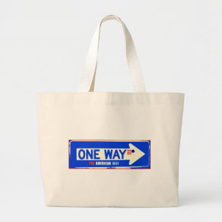 ONE WAY TOTE BAGS