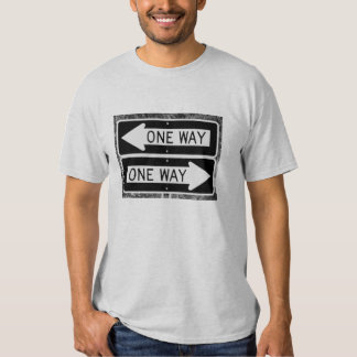 One Way Conflict Tee Shirts