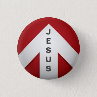 One Way - Jesus 3 Cm Round Badge