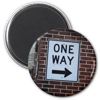 One Way Sign Magnet