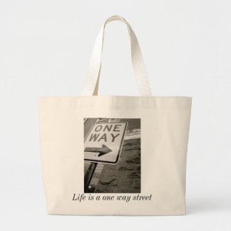 One Way Street Tote Bags