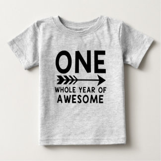 ONE Whole Year of AWESOME Shirt! Baby T-Shirt